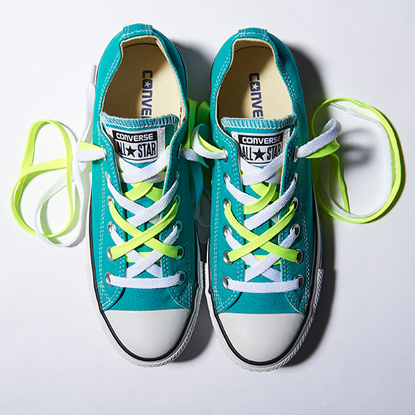 Different Shoe Lacing Styles Converse